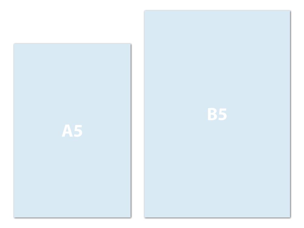 Diary Sizes
