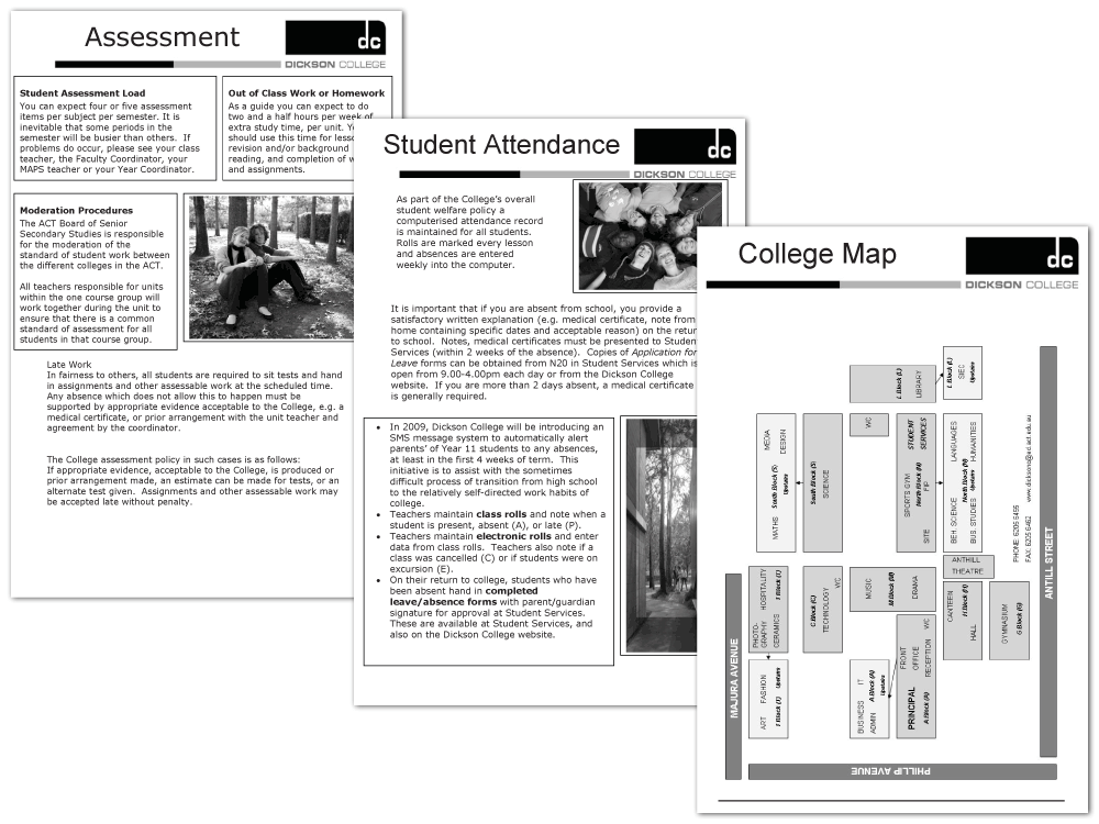 Information Pages