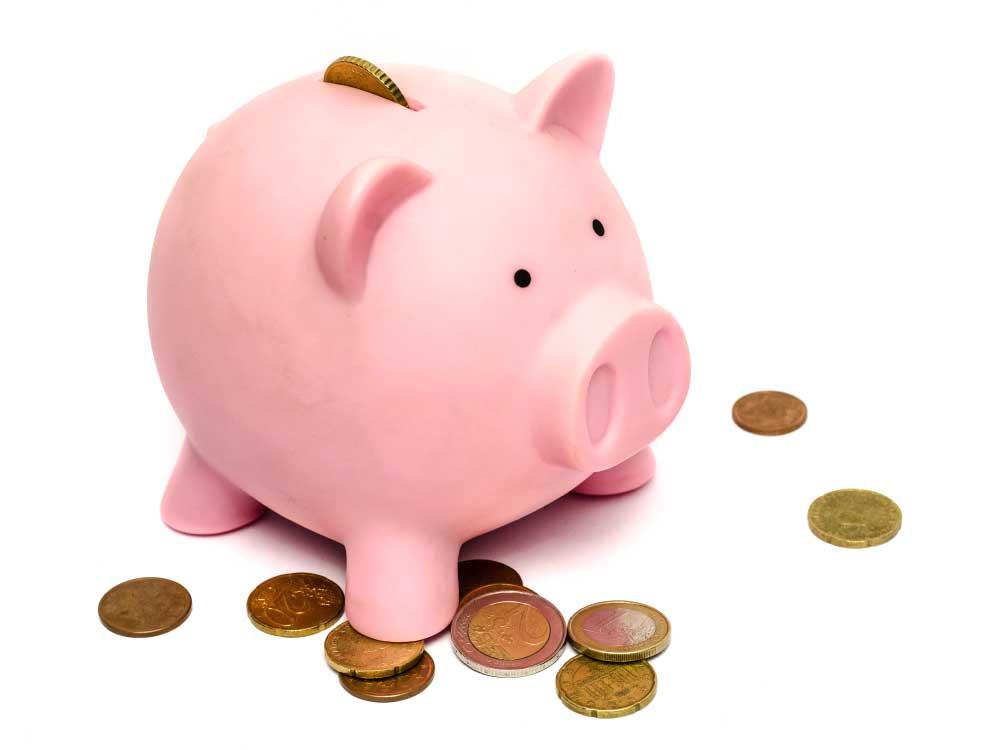 Yearbook Piggy Bank