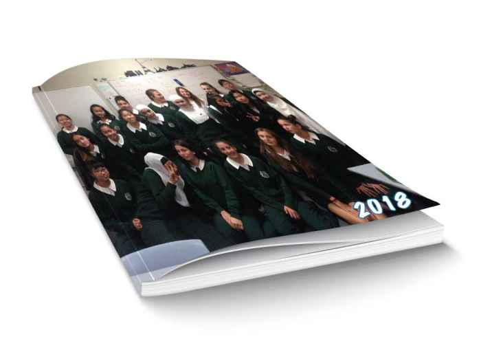 Student Yearbook Soft Cover